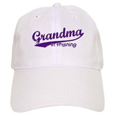 Grandma in Training Baseball Cap