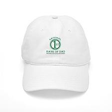 1st National Bank of Dad Baseball Cap