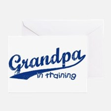 Grandpa in Training Greeting Cards (Pk of 10)