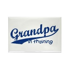 Grandpa in Training Rectangle Magnet