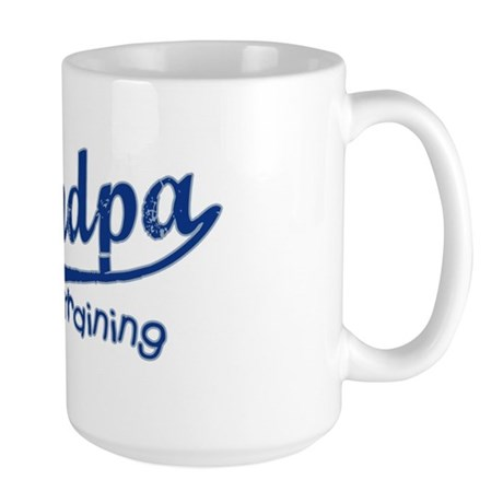 Grandpa in Training Large Mug