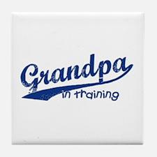 Grandpa in Training Tile Coaster