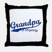 Grandpa in Training Throw Pillow