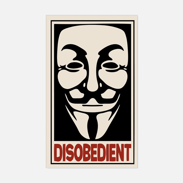 Disobedient Decal