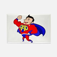 Fathers Day Super Dad Magnets