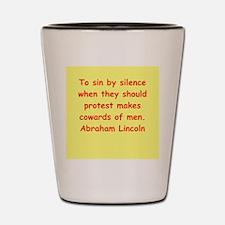 abraham lincoln Shot Glass