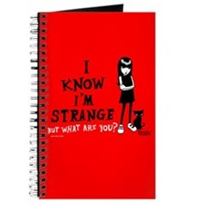 I Know I'm Strange Journal