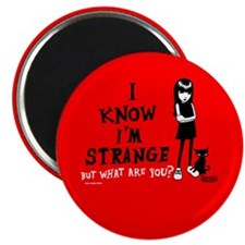 I Know I'm Strange Magnet