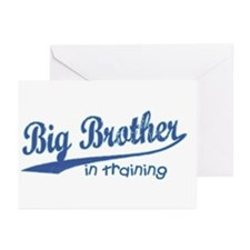 Big Brother In Training Greeting Cards (Package of