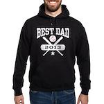 Best Dad 2013 Baseball Hoodie (dark)