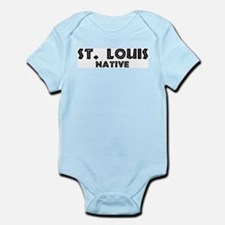 St. Louis Native Infant Creeper