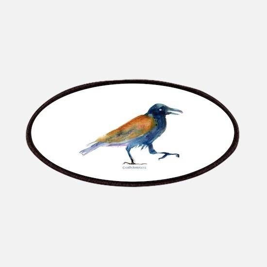 Blue Raven/Crow Patches