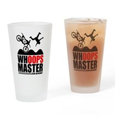 Whoops Master Drinking Glass
