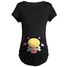 Honey Bee Baby Valentine Maternity T-Shirt