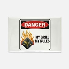 Rules Rectangle Magnet
