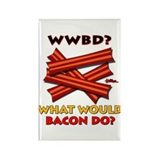 WWBD? Rectangle Magnet