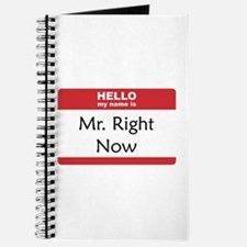 Mr Right Now Journal