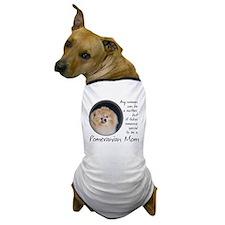 Pom Mom Dog T-Shirt