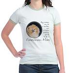 Pom Mom Jr. Ringer T-Shirt