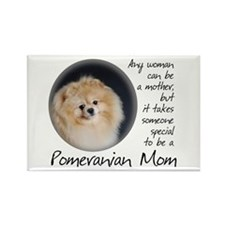 Pom Mom Rectangle Magnet