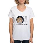 Pom Mom Women's V-Neck T-Shirt
