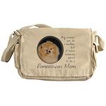 Pom Mom Messenger Bag