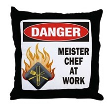 Meister Chef Throw Pillow
