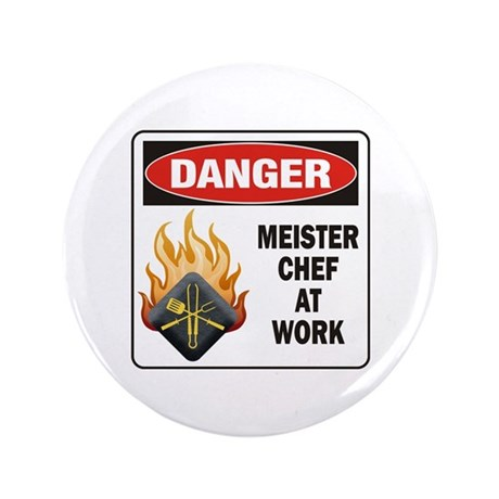 """Meister Chef 3.5"""" Button (100 pack)"""