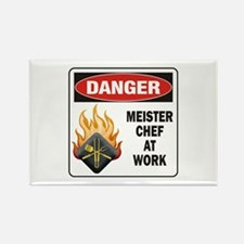Meister Chef Rectangle Magnet