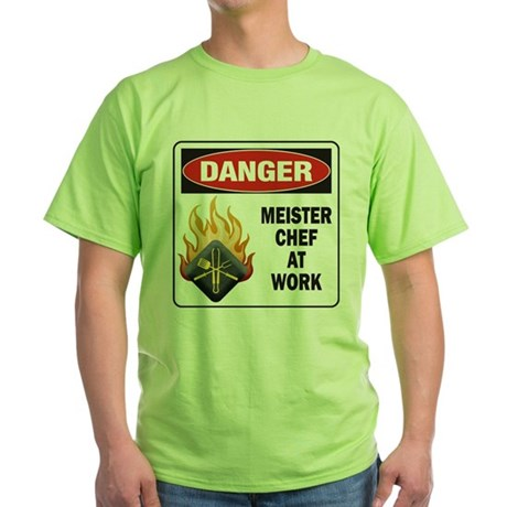 Meister Chef Green T-Shirt