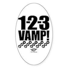 1-2-3 VAMP! Decal