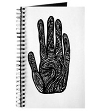 African Style Hand Journal