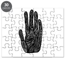 African Style Hand Puzzle