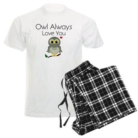 Owl Always Love You Men's Light Pajamas