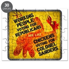 Chickens Voting for Col. Sand Puzzle