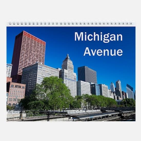 Michigan Avenue Wall Calendar