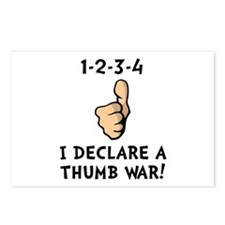Thumb War Postcards (Package of 8)