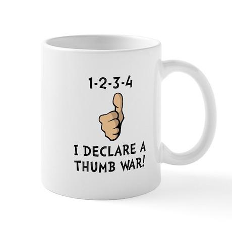 Thumb War Mug