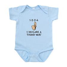Thumb War Infant Bodysuit