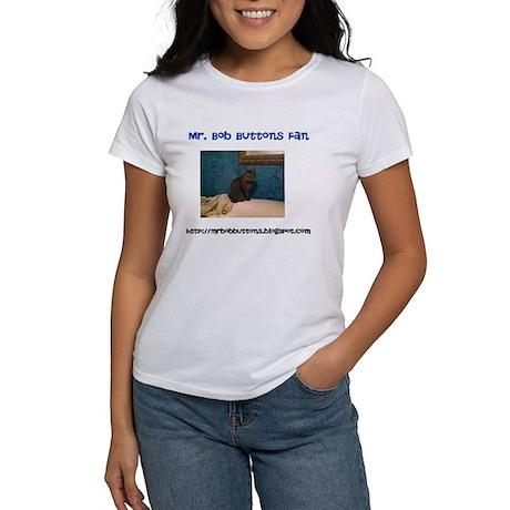 Mr. Bob Buttons Women's T-Shirt