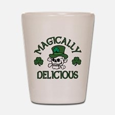 Magically Delicious Skull Shot Glass