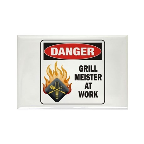 Grill Meister Rectangle Magnet (10 pack)