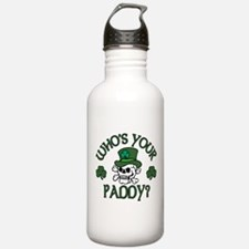Who's Your Paddy Skull Water Bottle