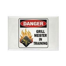 Grill Meister Rectangle Magnet