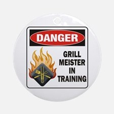 Grill Meister Ornament (Round)