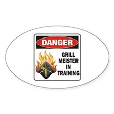 Grill Meister Decal