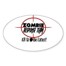 Funny Zombie Response Team Decal