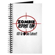Funny Zombie Response Team Journal