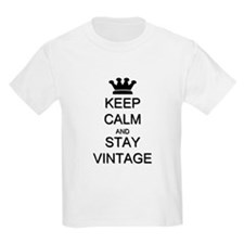 Keep Calm and Stay Vintage T-Shirt
