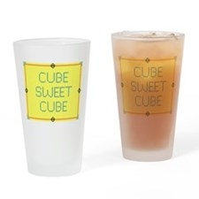 Cube Sweet Cube Drinking Glass